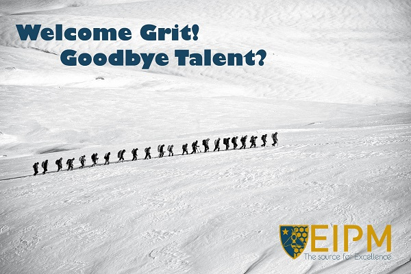 SlideShare cover: Welcome Grit! Goodbye talent?